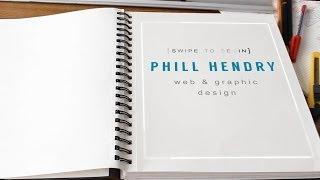 Phill Hendry - Graphic Design Showreel - Video CV
