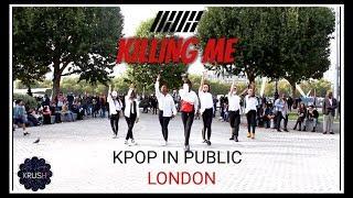 [KPOP IN PUBLIC CHALLENGE LONDON] KILLING ME (죽겠다) - IKON (아이콘) DANCE COVER BY [KRUSH LDN] 댄스 커버