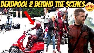 Deadpool 2  Behind the Scenes Ft. Domino - I