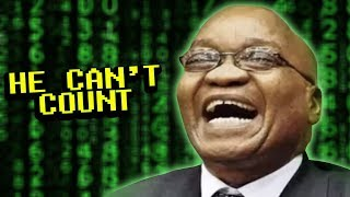 The president of South Africa's Numbers