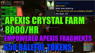 WoW 6.2 Apexis Crystal Farm! 8000/hour! [+650 Baleful Tokens & 695 Empowered Apexis Fragments]