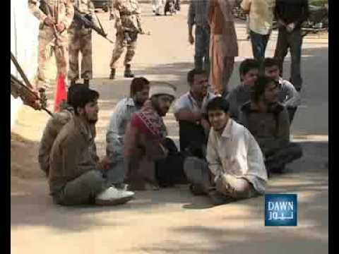 News Package Fight in Karachi University