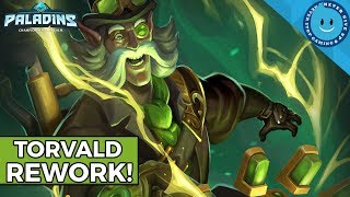Paladins New Torvald Rework! Is He Better Or Worse? | Torvald Rework Gameplay and Analysis