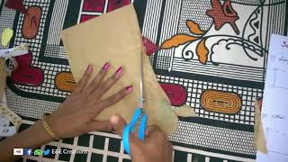 Perfect simple sleeve cutting and stitching easy method