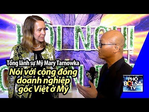 Xxx Mp4 Tổng Lãnh Sự Mỹ Mary Tarnowka Nói Gì Với Các Doanh Nghiệp Gốc Việt ở Mỹ 3gp Sex