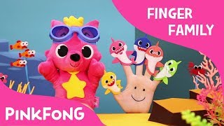Shark Finger Family   Finger Puppets   Pinkfong Plush   Pinkfong Songs for Children