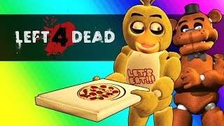 Vanoss - 惡靈勢力二有趣時刻:FNAF對上麥塊(Five Nights At Freddy s Vs  Minecraft! Left 4 Dead 2 Funny Moments)