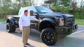 2015 F350 Black Ops by Tuscany Lifted Fully Loaded