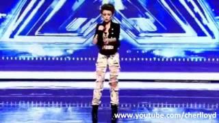 Cher Lloyd X Factor 2010 First Audition - Soulja Boy / Keri Hilson -