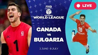 Canada v Bulgaria - Group 1: 2017 FIVB Volleyball World League