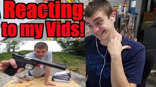 Reacting to my OLD VIDEOS!!! - Kendall Gray 100K Special