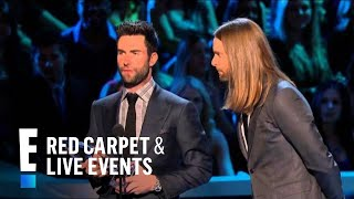 The People's Choice for Favorite Band is Maroon 5