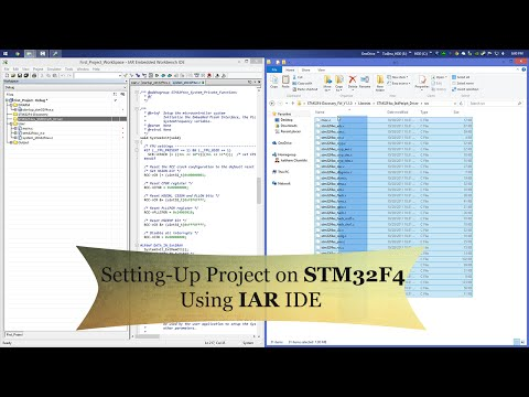 STM32F4 Tutorial : Setting up your first project for STM32F4 using