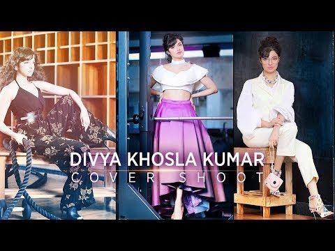 Divya Khosla Kumar's Cover Shoot   Behind The Scenes   Fitlook Magazine