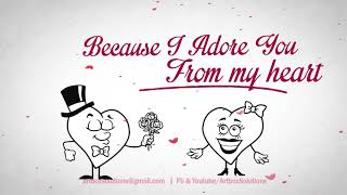 Download Free Valentines day Greeting for Romantic Young Couple | Whatsaap Status video 2019