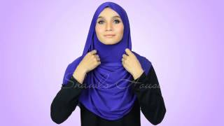 Tutorial - Simple Sarong Instant Shawl