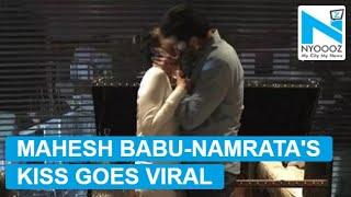 VIRAL PIC: Mahesh Babu kisses Namrata Shirodkar