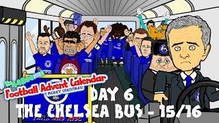 THE CHELSEA BUS - 2015/2016! (Day 6 Football Advent Calendar)