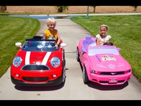 Xxx Mp4 Kids Car Race Mini Cooper Vs The Princess Mustang 3gp Sex