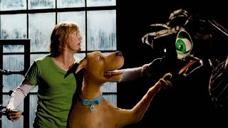 Red & Green Eye Skeleton Chases Scooby-Doo