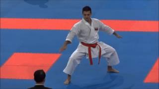 Kata SEIENCHIN by Antonio Diaz - 21st WKF World Karate Championships