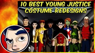 10 Best Young Justice Costume Redesigns FT. Caped-Joel
