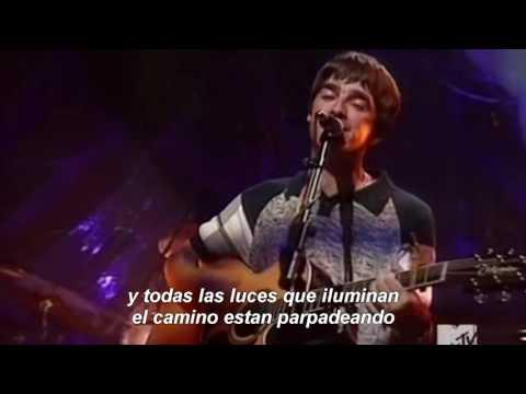 Oasis - Wonderwall Unplugged Español