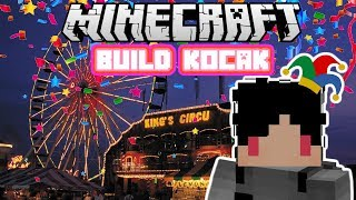 Minecraft Indonesia - Build Kocak (43) - Pasar Malam!