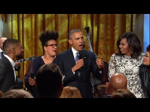 Watch President Obama speak and sing at White House tribute to Ray Charles