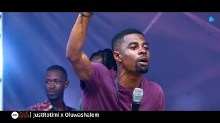 JustRotimi x Oluwashalom perform  'LOVE WILL ALWAYS WIN' at PluggedinMusicFest2018