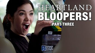 Heartland Season 11 Bloopers, Part Three