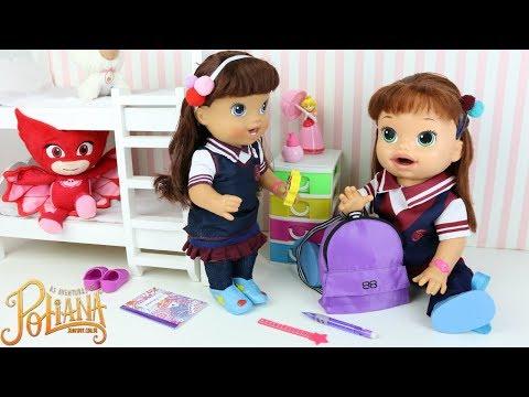 Xxx Mp4 Baby Alive As Aventuras De Poliana Indo Pra Escola Com Valentina A Nova Estudante Da Escolinha Ruth 3gp Sex