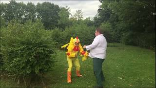 Family Guy - REAL Epic Chicken Fight - Cosday 2017