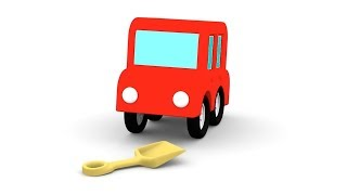 Cartoon Cars -YELLOW CAR RESCUE! - Cartoons for Children - Children