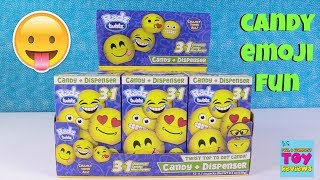 Radz Twistz Emoji Candy Dispenser Limited Edition Blind Box Toy Opening   PSToyReviews