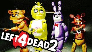 FOXY WITH A GUN!! | Left 4 Dead 2 FNAF Mods w/Dawko & Razzbowski | Part 1