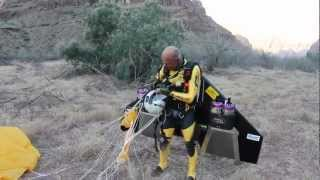 Jetman Flight at Grand Canyon West