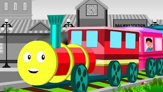 Chuk Chuk Karti Rail Chali | Rhymes For Kids | Hindi Nursery Rhymes | Hindi Poems | Children Songs
