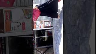 Pakistan Bazar Girl Walking