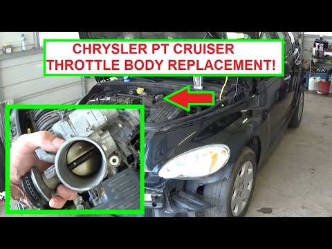 Chrysler PT Cruiser Throttle Body Removal and Replacement in 5 minutes! 2001-2009