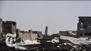 Video Refutes ISIS Claim That U.S. Blew Up Mosque | The New York Times
