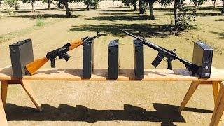 AR-15 VS AK-47 | 762 vs 556