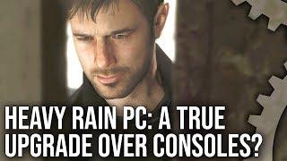 [4K] Heavy Rain on PC: A True Upgrade Over PlayStation 4?