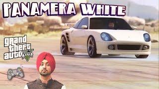PANAMERA WHITE - Diljit Dosanjh | GTA 5 Version