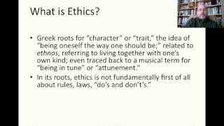 001 Introduction to Moral Philosophy
