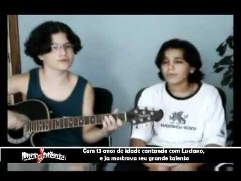 Luan Santana cantando antes de ser Sucesso