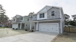 EDC Homes Bayside III Model|Coastal Virginia New Construction Homes|VA Realtors