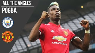 Paul Pogba v Manchester City: All The Angles