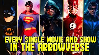 Every TV Show and Movie in the Arrowverse Multiverse as of Crisis on Infinite Earths