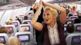 Surprise Dance on Finnair Flight to celebrate India's Republic Day